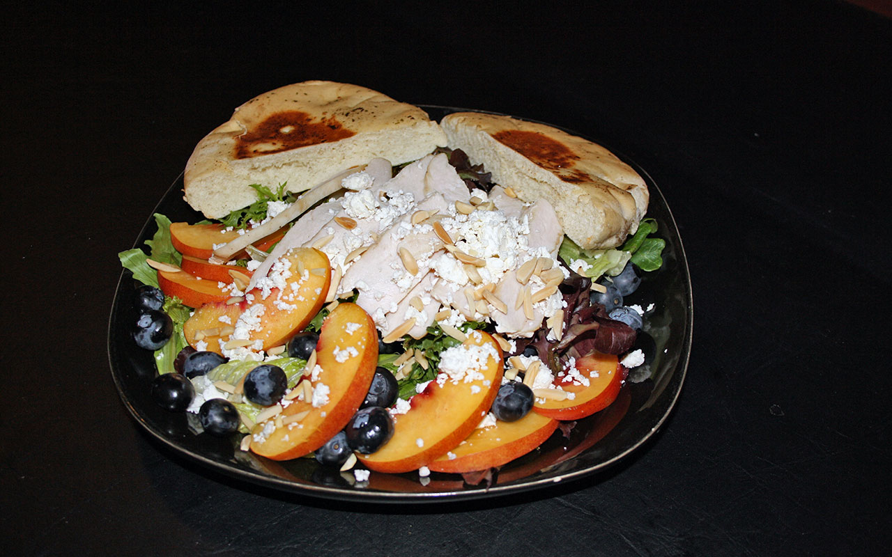 Blueberry Nectarine Salad