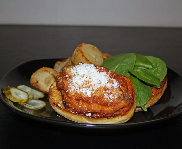 Colander Chicken Cutlet Parmesan