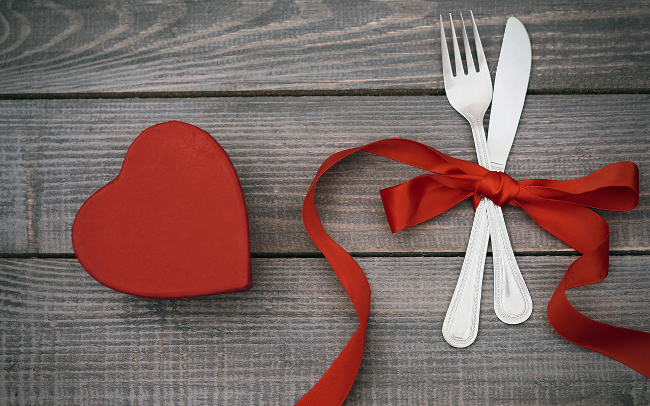 Colander and Valentines Day