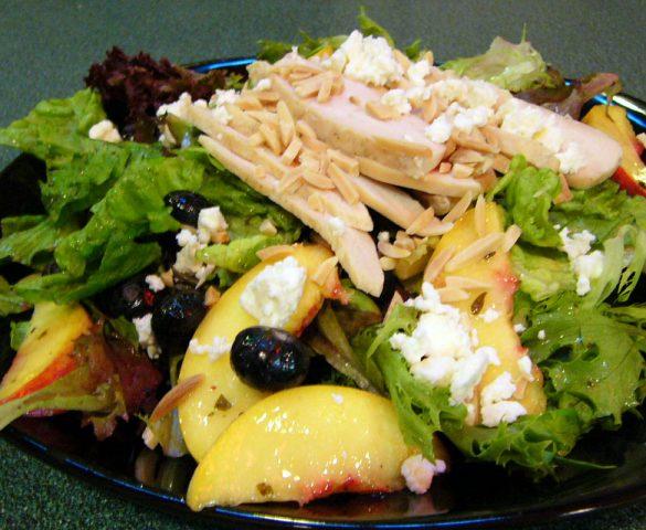 Peach Blueberry Salad