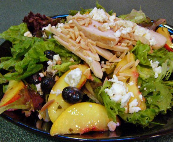 Peach Blueberry Salad