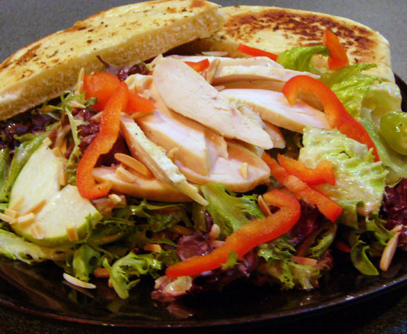 Pear Grape Chicken Salad